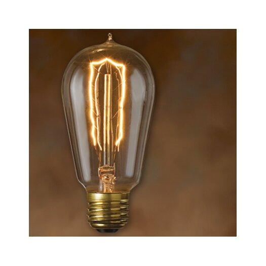 Bulbrite Industries Nostalgic Edison (2200K) Incandescent Light Bulb (Pack of 6)