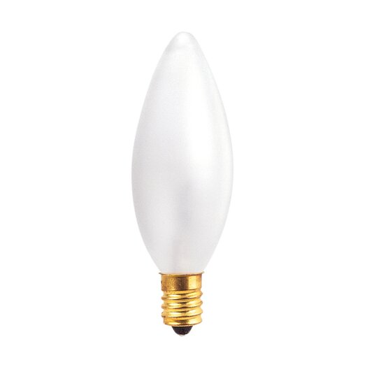 Bulbrite Industries European 40W Frosted (2700K) Incandescent Light Bulb