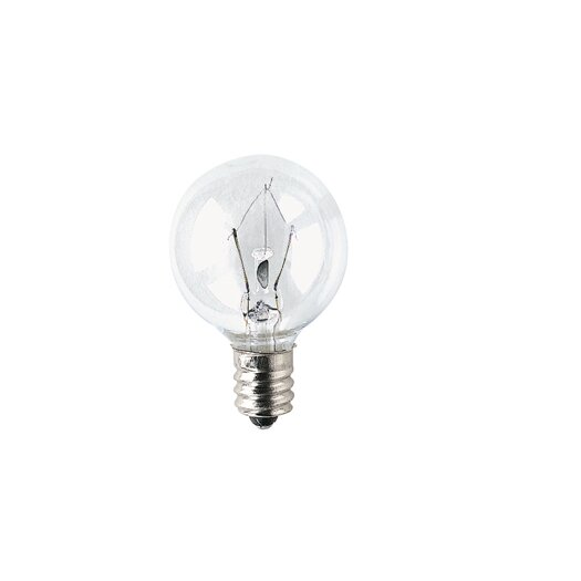Bulbrite Industries Candelabra (3000K) Light Bulb (Pack of 10)