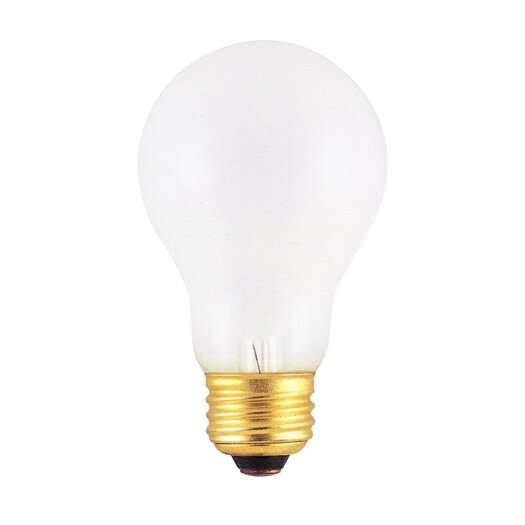 Bulbrite Industries 75W Frosted 220 - Volt (2600K) Incandescent Light Bulb