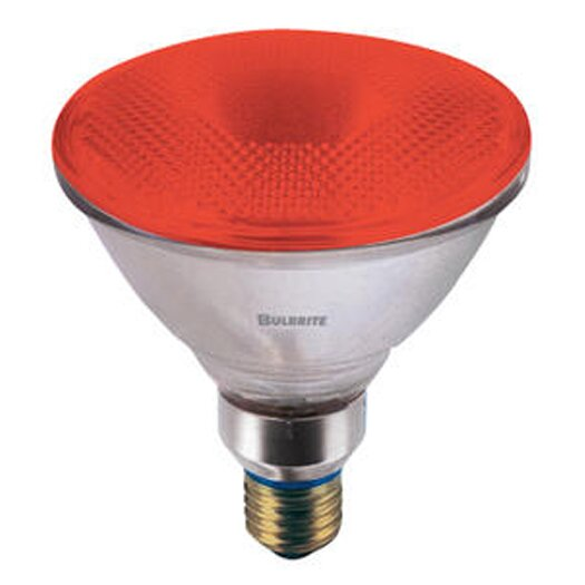 Bulbrite Industries 90W Red 120-Volt Halogen Light Bulb
