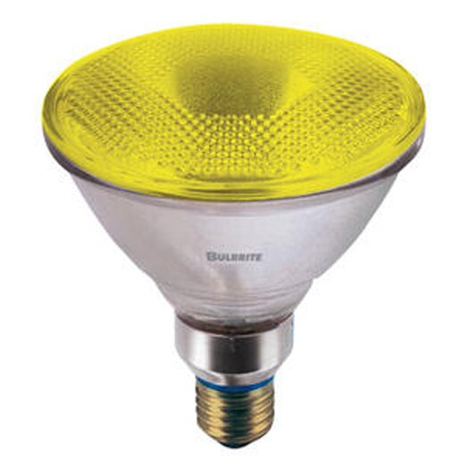 Bulbrite Industries 90W Yellow 120-Volt Halogen Light Bulb