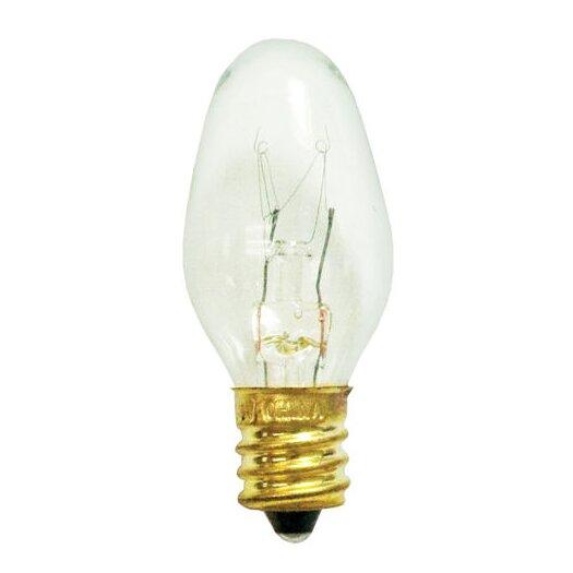 Bulbrite Industries 5W C7 Christmas Light