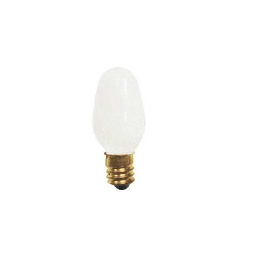 Bulbrite Industries 7W C7 Christmas Light