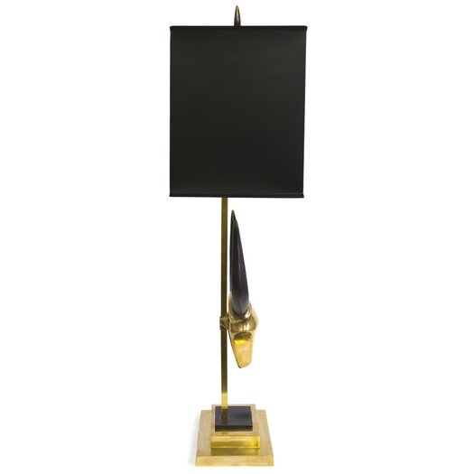 "Jonathan Adler Pablo 31.75"" H Table Lamp with Rectangle Shade"