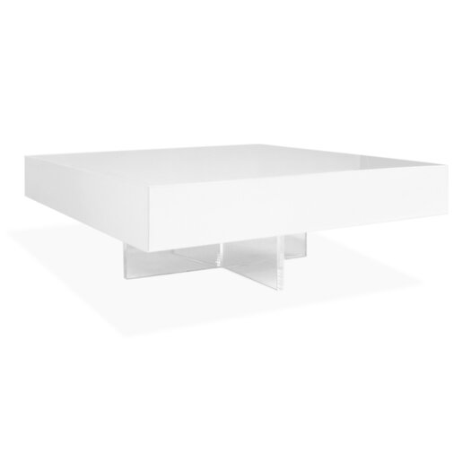 Jonathan Adler Lacquer Block Cocktail Table