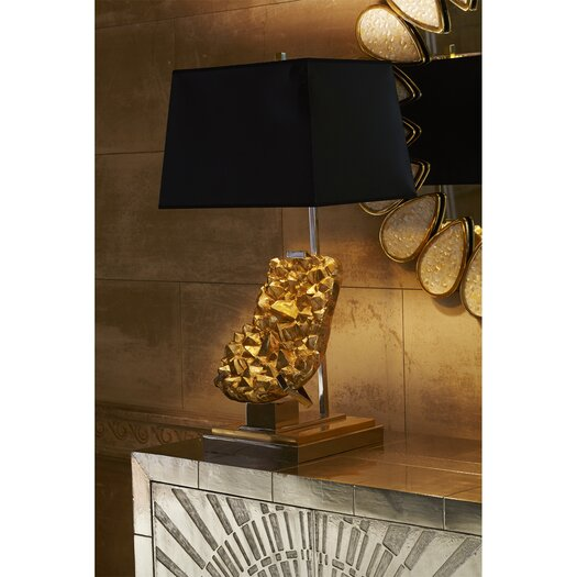 """Jonathan Adler Solange 28.25"""" H Table Lamp with Rectangle Shade"""