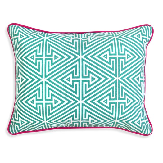Jonathan Adler Bobo Triangle Labyrinth Throw Pillow