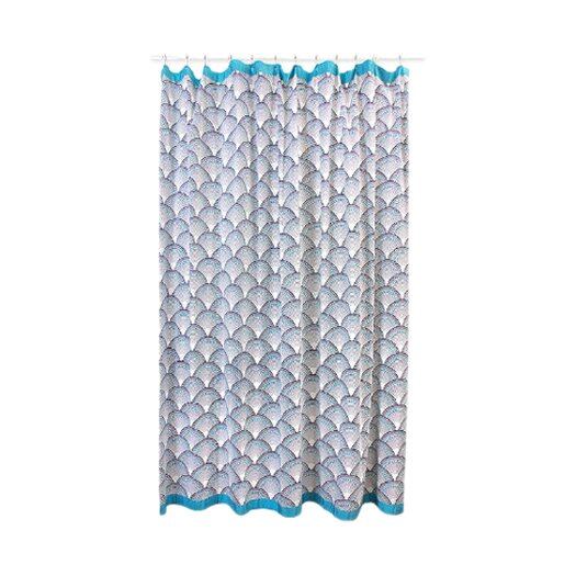 Fish Scales Shower Curtain