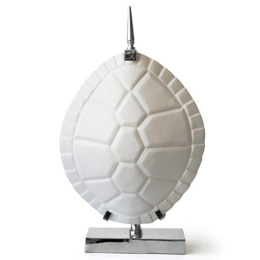 """Jonathan Adler Tortoise Shell 25"""" H Table Lamp"""