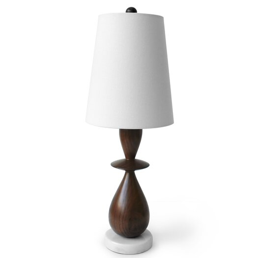 "Jonathan Adler Buenos Aires 24"" H Table Lamp with Empire Shade"