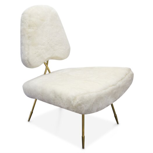 Maxime Fur Side Chair