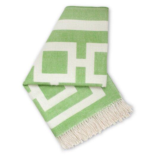 Jonathan Adler Nixon Wool Throw Blanket