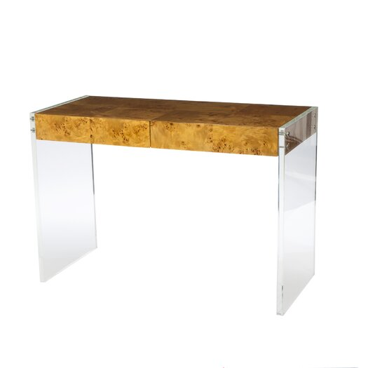 Jonathan Adler Bond Lucite Writing Desk