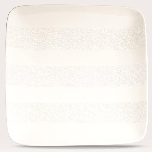 "Noritake Falling Snow 7.5"" Small Square Plate"