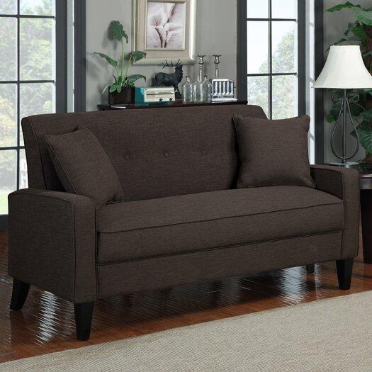 Handy Living Espresso Sofa