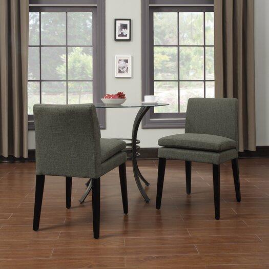 Handy Living Oslo Smoky Side Chair