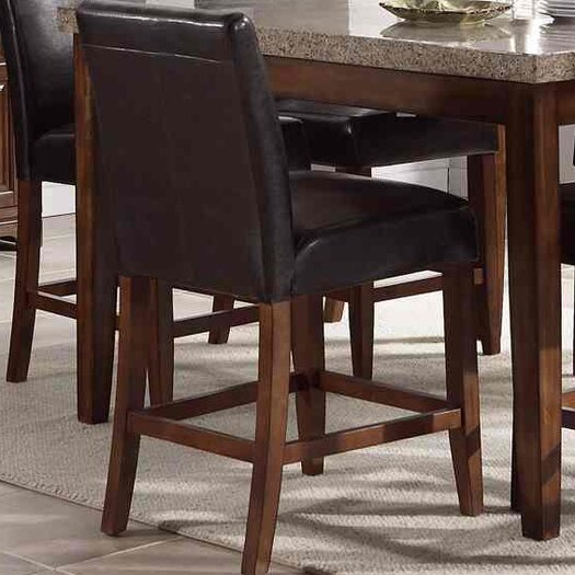 """Steve Silver Furniture Clayton 24"""" Counter Stool"""
