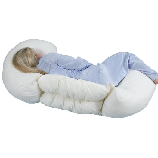 LeachCo Grow To Sleep Self-Adjusting Body Pillow