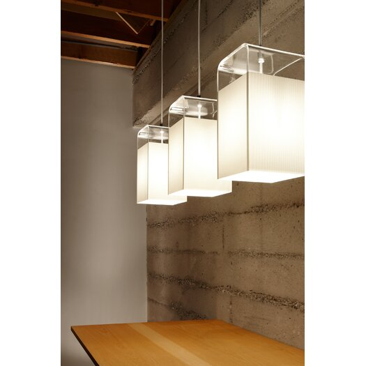 Pablo Designs Tube Top 1 Light Pendant