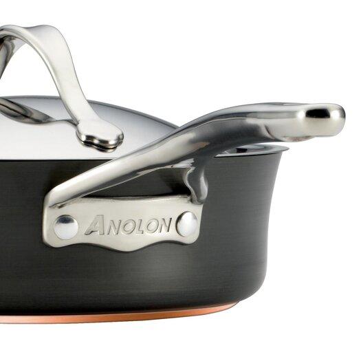 Anolon Nouvelle Stainless 4-qt. Saucier