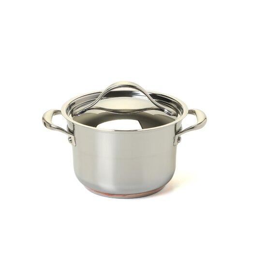 Anolon Nouvelle Copper Stainless Steel 3.5-qt. Soup Pot with Lid