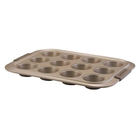 Anolon Advanced Bronze 12 Cup Muffin Pan