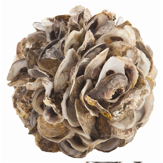 ARTERIORS Home Kosta Authentic Oyster Shell Sphere