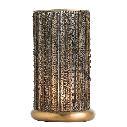 "ARTERIORS Home Rabari 15"" H Table Lamp with Drum Shade"