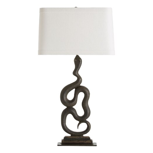 "ARTERIORS Home Heath Left 33"" H Table Lamp with Rectangular Shade"