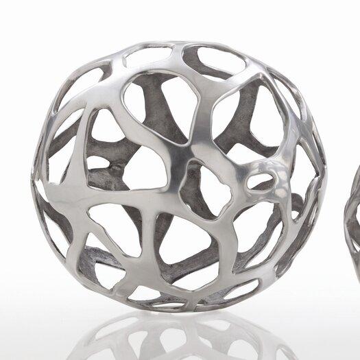 ARTERIORS Home Ennis Web Sphere Sculpture