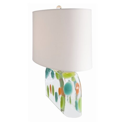 "ARTERIORS Home Tara 20"" H Table Lamp with Drum Shade"