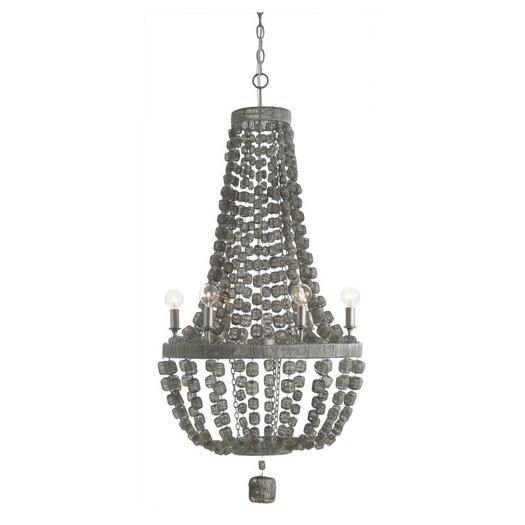 ARTERIORS Home Jada 6 Light Wire Wrapped Chandelier