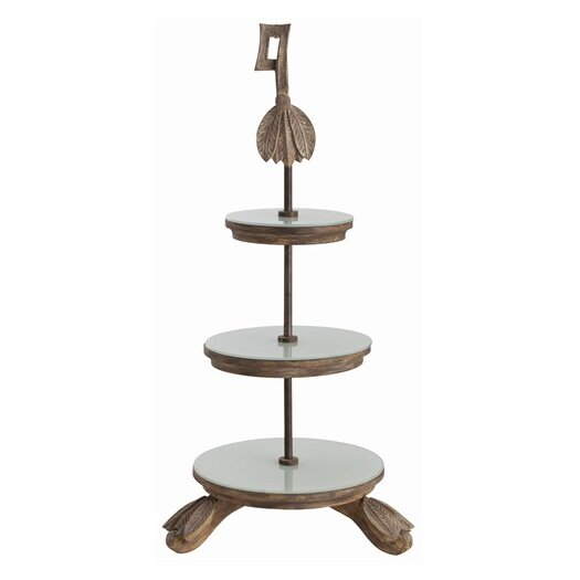 ARTERIORS Home Amboise 3 Tier Wooden Server