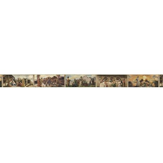 4 Walls Life of Jesus Mural Style Wallpaper Border