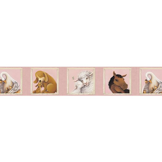 4 Walls Mother and Child Wallpaper Border