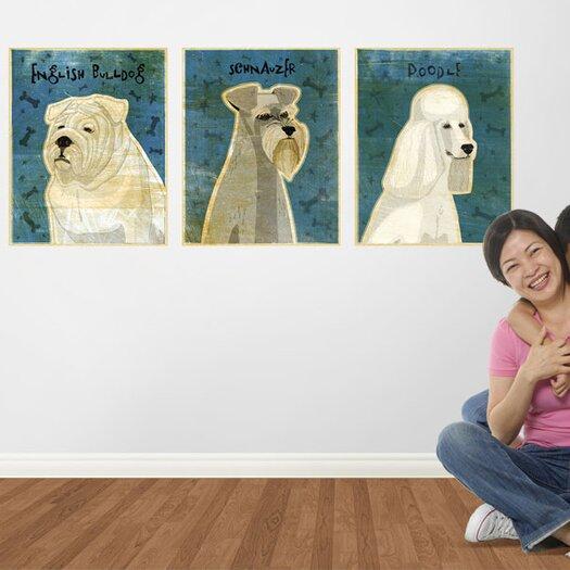 4 Walls Top Dog Schnauzer Wall Decal
