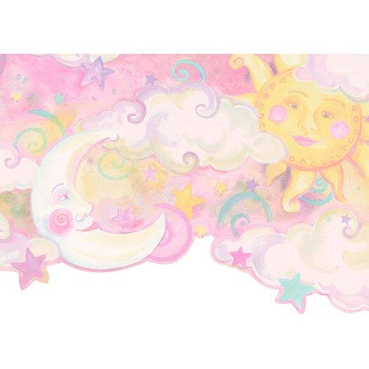 4 Walls Whimsical Children's Vol. 1 Celestial Wallpaper Border