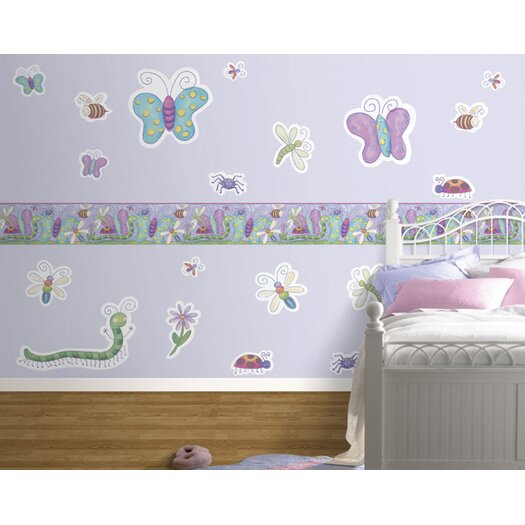 4 Walls Bugs Freestyle Wall Decal