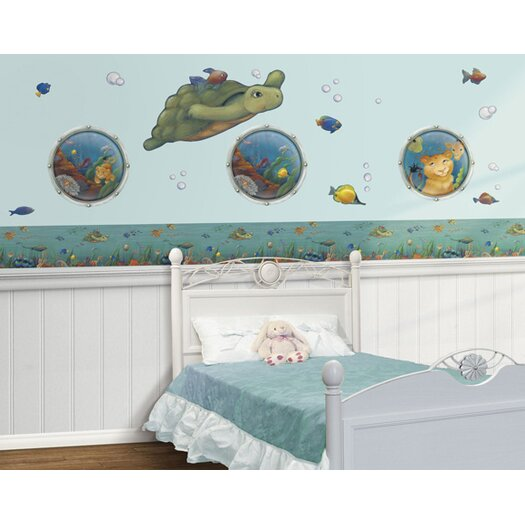 4 Walls Undersea Free Style Wall Decal