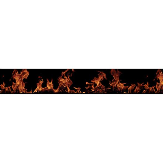 4 Walls Fired Up Free Style Wallpaper Border