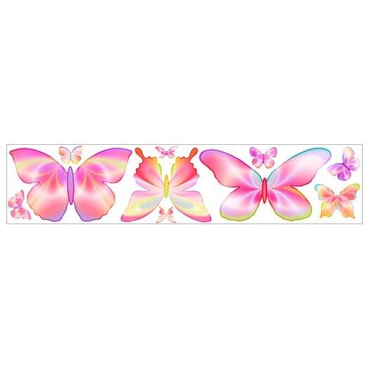 4 Walls Fluttering Butterflies Freestyle Wall Decal