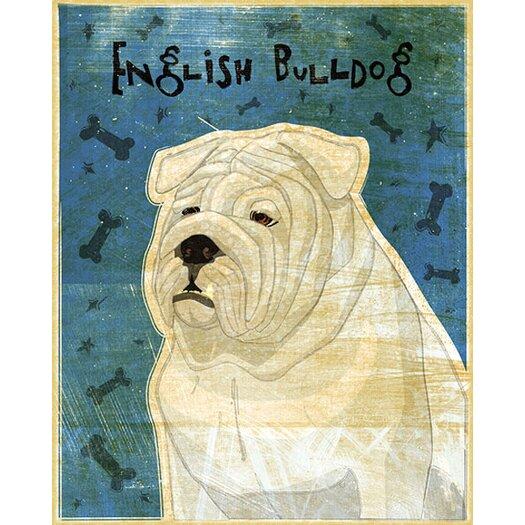 4 Walls Top Dog English Bulldog Wall Decal