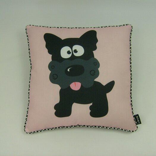 lava Little Puppy Pillow