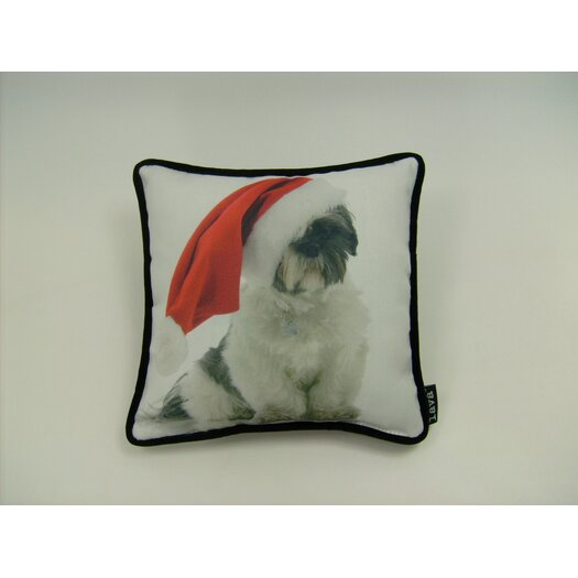 lava Lava Holiday Schitzu Pillow