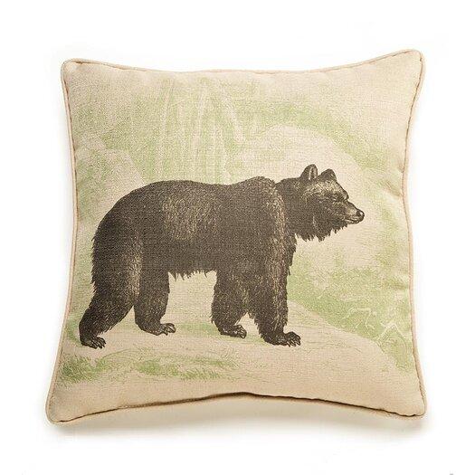 lava Lava Bear Etching Pillow