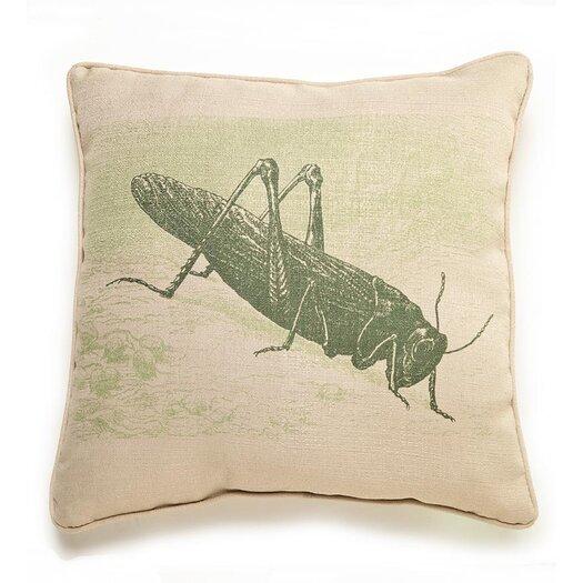 lava Lava Grasshopper Etching Pillow