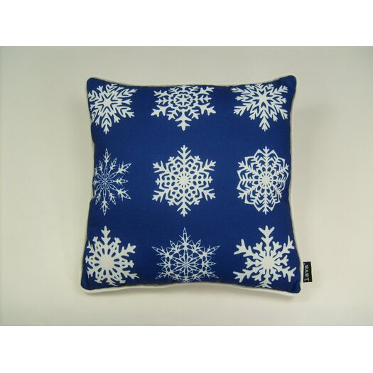 lava Lava Snowflakes in A Row Pillow