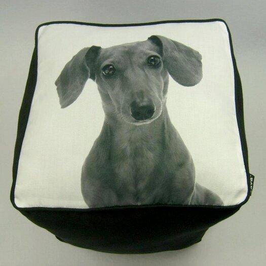 lava Daschshund Cube Ottoman