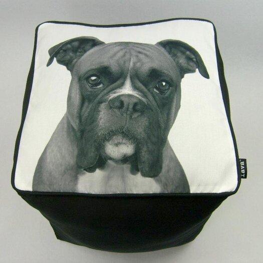 lava Boxer Cube Ottoman